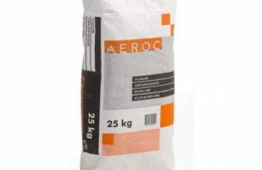 Клей для газобетону Aeroc