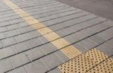 Тротуарна плитка Квадрат тактильний А